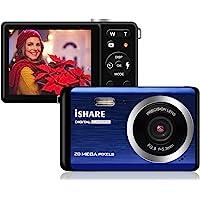 Mini Digital Camera for Photography with 2.8 Inch LCD 8X Digital Zoom, 20MP HD Digital Camera…
