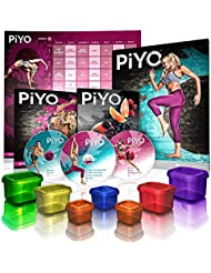 PiYO Pilates und Yoga-Übung Hardcore auf dem Boden Krafttraining
