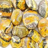 Rodados de Jaspe Abejorro 2x3cm (Pack 30gr) Minerales y Cristales para...