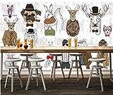 Carta da parati a parete personalizzata per tappezzeria da tavolo con utensili da bar, murale, 300 * 210 cm