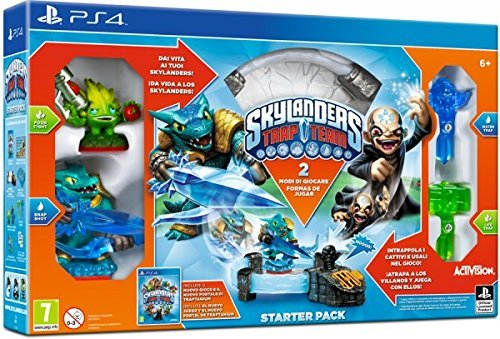 SKYLANDER TRAP TEAM 87029IS STARTER PACK PS4 by Activision Blizzard