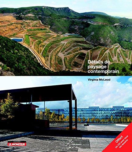 Détails de paysage contemporain