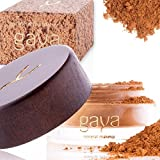 Gaya Cosmetics Foundation Make Up Puder - Vegan Mineral Professionelle Natürliche Full Coverage Foundation Makeup Powder (Schattierung MF7)