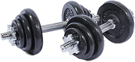 York Fitness Chrome Dumbels set 20KGs