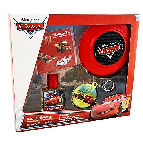 Disney Cars Gift Eau de Toilette und Spielzeug - Autos, 1er Pack (1 x 1 Stück)