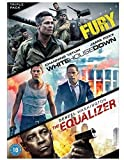 Fury & White House Down & The Equalizer [DVD]