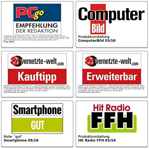 GSM-Funk-Alarm-Systeme: GSM-Alarmanlage mit Funk- & Handynetz-Anbindung - 7