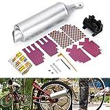 Wooya Fahrrad-Auspuff-Muffler-System Motorrad Megaphon Pfeife Sounds Rauschen BMX Bike Engine