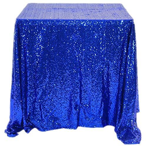 SovelyBoFan Mantel Lentejuelas Brillantes -Azul Real-