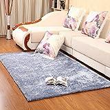 KELE Plüsch Teppich,Dekorativ teppiche Modernes Teppich-teppiche für Schlafzimmer Wohnzimmer Studieren Einfaches Restaurant Bett-E 63x91inch(160x230cm)