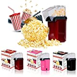 Great Value Company Popcorn Maker with Butter Melting Container, 1200 W, Red