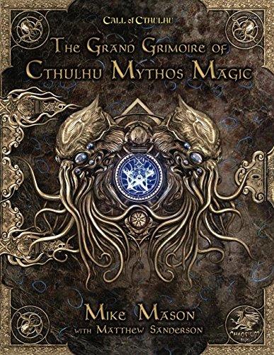 The Grand Grimoire of Cthulhu Mythos Magic por Mike Mason