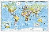 Weltkarte (deutsch) Kleinformat - Stiefel Eurocart