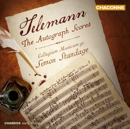 Telemann: Autographe Partituren - Ouvertüren, Konzerte u.a.