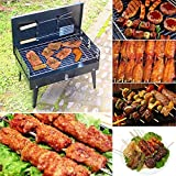 #6: Vertico Charcoal Burn Oven Portable Folding Barbecue Grill Box Barbecue Grill For Outdoor Household BBQ Grills Thickening