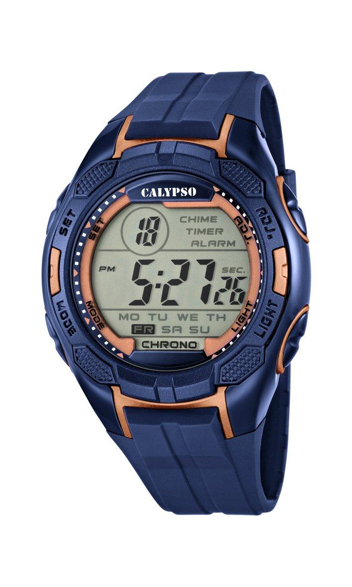 4c498985e5b7 Calypso Reloj Digital para Hombre de Cuarzo con Correa en Plástico K5627 9