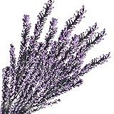 RWINDG 5 Stücke Künstliche Seide Gefälschte Blumen Lavendel Hochzeit Bouquet Party Wohnkultur Blumengestecke Kunstpalme Palmen BlüTen