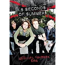 Official 5 Seconds of Summer 2016 A3 Calendar