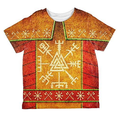Old Glory Wikinger Hässlichen Pullover Rüstung Weihnachtskostüm Aller Kleinkind T Shirt Multi 2 - Kleinkind-shirt Wikinger