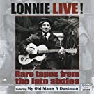 Lonnie Live! Rare Tapes from the Late Sixties