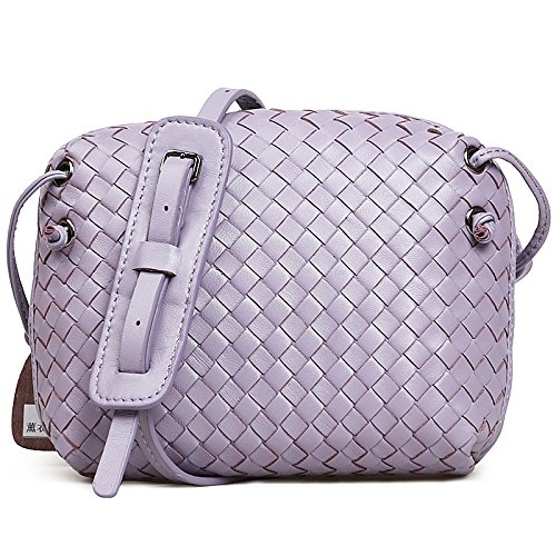 Chlln 2017 Neue Schaffell Schaffell Aus Taschen Aus Tasche Handtasche Crossbody Netzsacks In Der Tasche Lilac colour