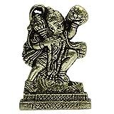 Señor Hanuman con Gandhamardan montaña Latón Estatua india Deidad Tabla Decoración