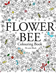 Flower Bee: Colouring Book