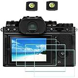X-T4 Protector de Pantalla para Fujifilm X-T4 Fuji Film XT4 y Réflex Digitales ,ULBTER 0,3 mm Dureza 9H Vidrio Templado Antia