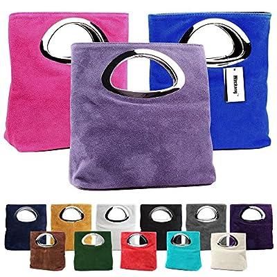 Wocharm Fantastic Best Quality Women's Designer Tote Bag Suede Leather Evening Large Clutch Bag Handbags