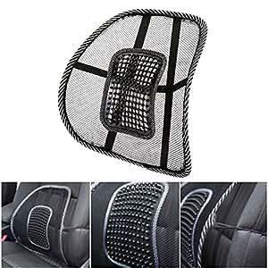 soutien lombaire chaise soutien dorsale si ge coussin pour voiture fournitures de bureau. Black Bedroom Furniture Sets. Home Design Ideas