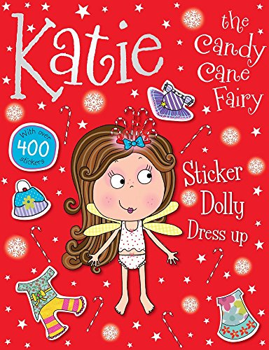 Katie the Candy Kane Fairy Sticker Dolly Dress -