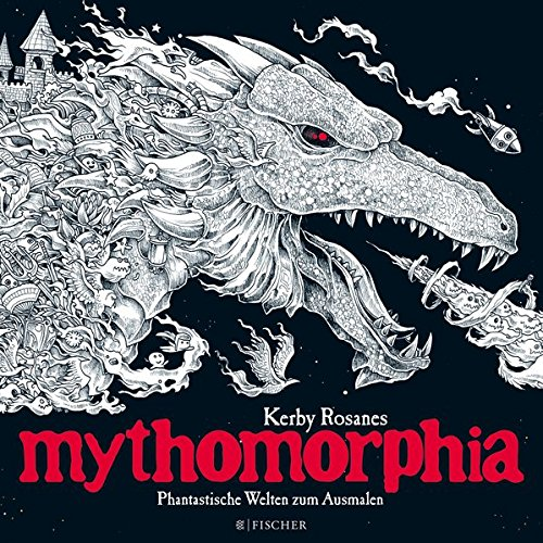 Buchseite und Rezensionen zu 'Mythomorphia' von Kerby Rosanes