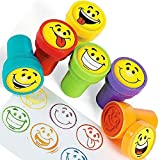 6 x Stempel Smiley Happy ... Ansicht