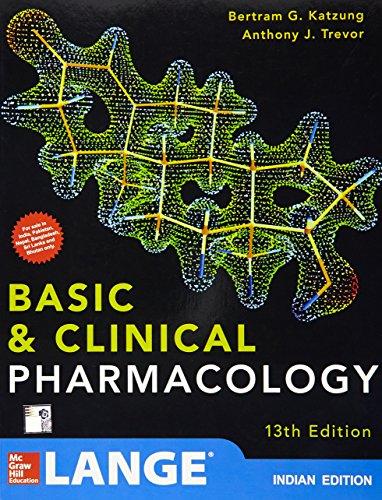 LANGE KATZUNG BASIC & CLINICAL PHARMACOLOGY
