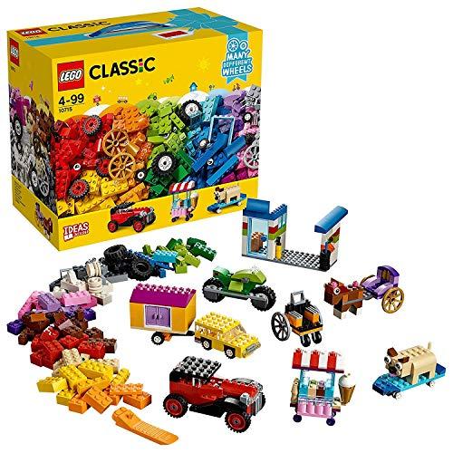 LEGO Classic - Ladrillos Sobre Ruedas 10715