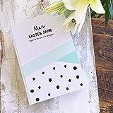 mintkind Babytagebuch Mein erstes Jahr blau Hardcover I Geschenke zur Geburt I Babygeschenk