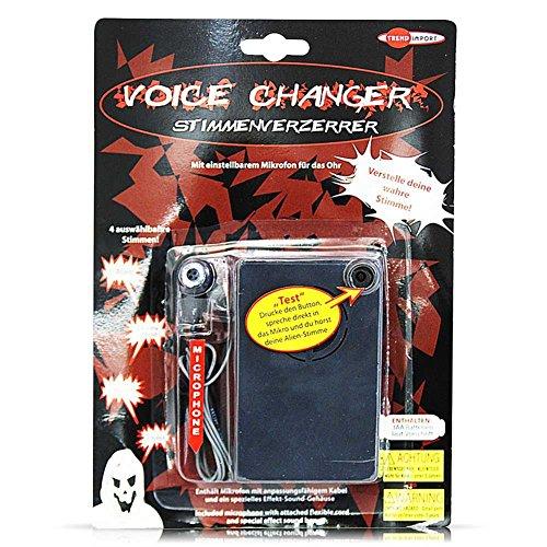 Preisvergleich Produktbild Stimmenverzerrer Stimmen Verzerrer Stimmenwandler Stimmen Wandler Voice 10, 5 x 6, 5 cm