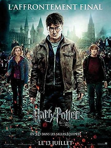 Affiche Cinéma Originale Grand Format - Harry Potter Et Les Reliques De La Mort : Partie 2 (format 120 x 160 cm pliée)