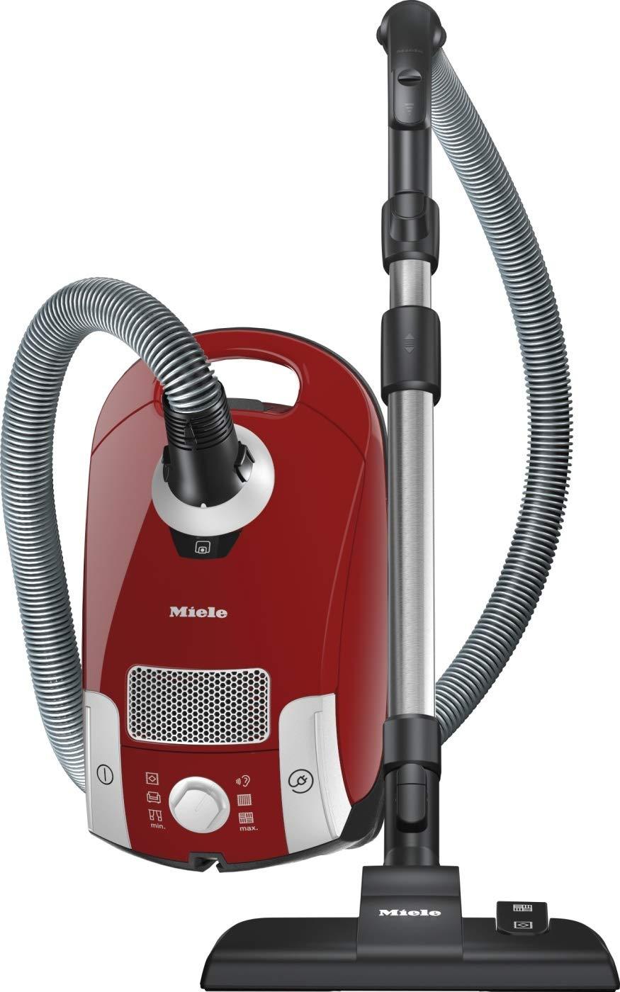 Miele Compact C1 EcoLine Bodenstaubsauger (550 Watt, 3,5 Liter Beutelvolumen) rot