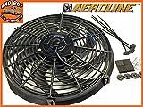 14' Aeroline 120w 12v Electric Radiator Cooling Fan Universal Fitting