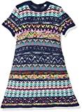 United Colors of Benetton Baby-Mädchen Kleid Dress, Blau (Dark Blue 1Z7), 68