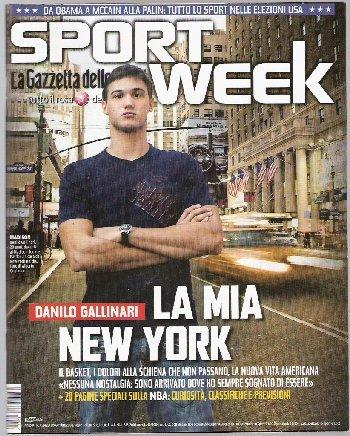 Sport Week 2008 #41 - Danilo Gallinari Maicon Lorenzo