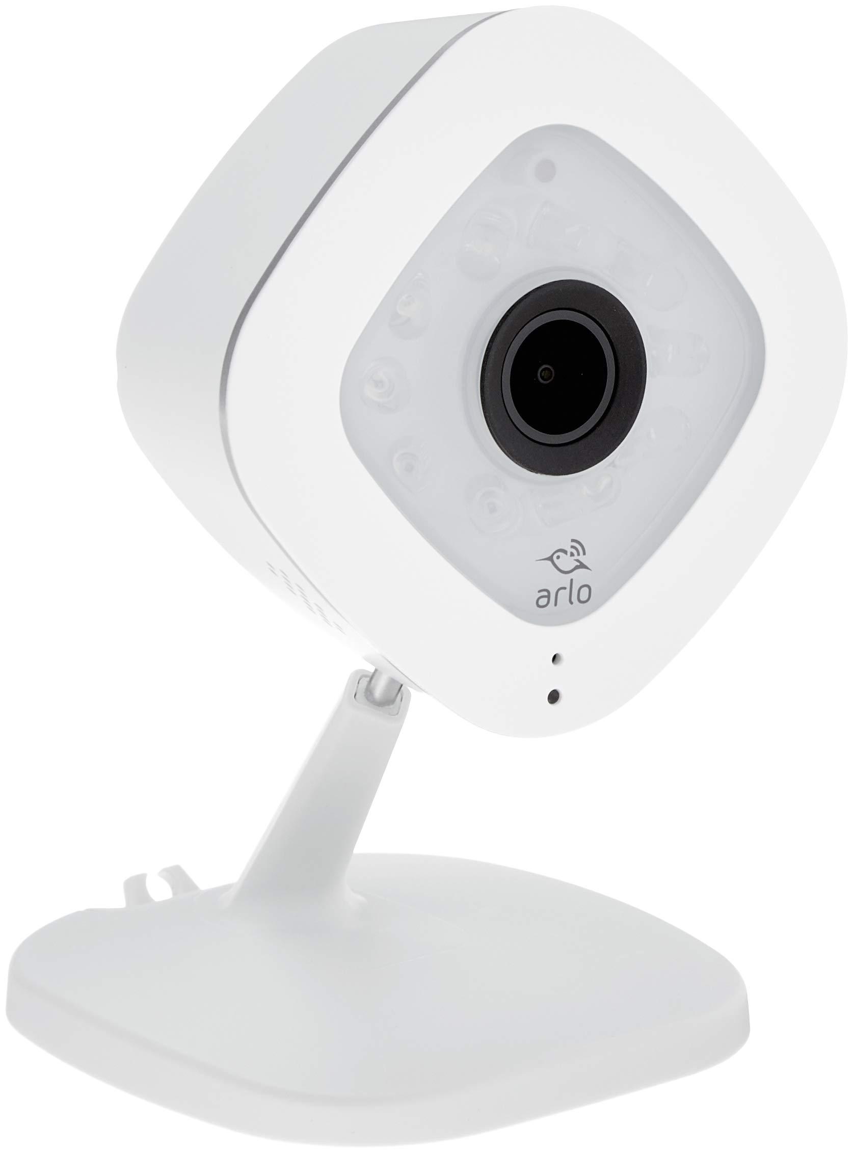 Arlo VMC3040S-100EUS Telecamera di Sicurezza Wifi, Alimentata Via Cavo e  Poe per Registrazioni 24/7, Visione Notturna, Funziona con Alexa e Google