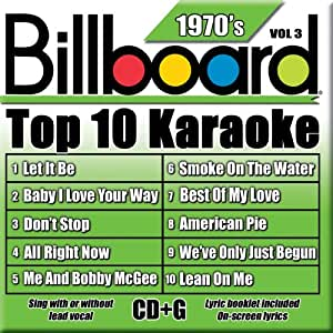 Billboard Top 10 Karaoke: 1970's 3