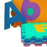 Puzzlematte 86 tlg. – Kinderspielteppich Spielmatte Spielteppich Schaumstoffmatte Matte bunt - 4