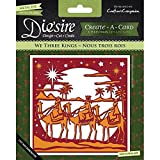 Crafters Companion Diesire Christmas 'Create-a-Card' Metal Die - We Three Kings