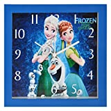 #8: Bazaar Pirates Kids Room Wall Clock, Frozen Wall Clock for girls, Watch for Kids Room ( Small ) ( 19 cm x 19 cm )