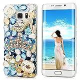 S6 Edge Plus Case, S6 Edge Plus 3D Bling Shiny Diamonds Glitter Sparkling