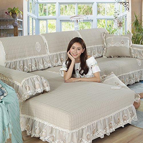 Copridivano salvadivano per divano con penisola/scudo di mobili in stile morsetto soldi,slipcovers divano per il salone,soft durevole rimanere in posizione -1 pezzo-a 70x210cm(28x83inch)