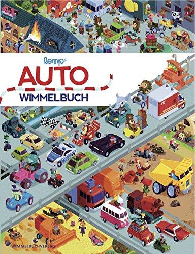 Auto Wimmelbuch: Das große Bilderbuch ab 1 Jahr mit Bagger, Müllauto, Feuerwehr, Polizei, Blaulicht und...